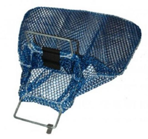 Trident Diving Equipment Galvanized Wire Handle Mesh Bags with D-Ring- Small for Scuba or Water Sports