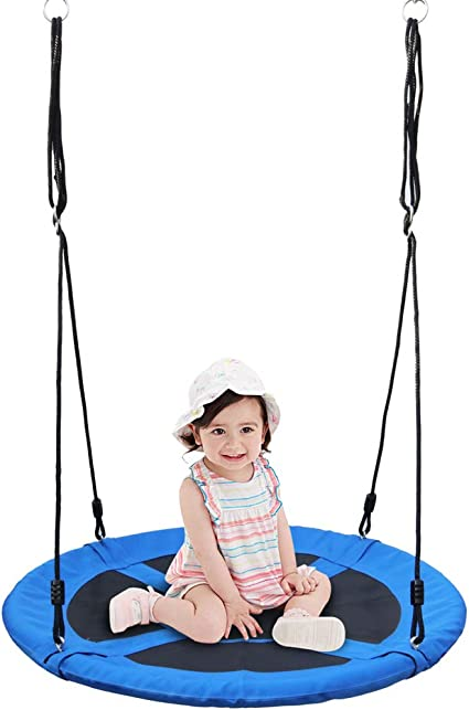 """Durable Saucer Tree Swing EZ Installed For Family Fun Playground Backyard 40/"""""""