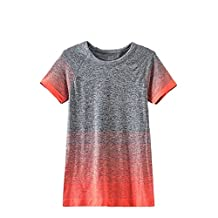 B.BANG Women's Performance Active Fitness Workout T-Shirt Top