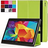 Poetic Samsung Galaxy Tab S 8.4 Case [SlimBook Series] - Folio Case with Folding Cover Stand for Samsung Galaxy Tab S 8.4 (SM-T700 / SM-T705) Green (3-Year Manufacturer Warranty from Poetic)