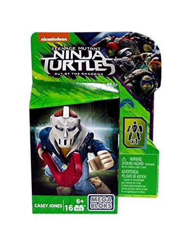 Teenage Mutant Ninja Turtles Out of the Shadows Casey Jones Mega Bloks, 16 Pieces