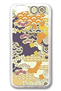 iPhone 6 Cases, Personalized Protective Case for New iPhone 6 Soft Clear Edge Flower Backgroud 02