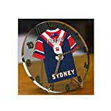 Sydney Roosters - PERSONALISED Acrylic Desk Clock