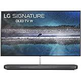 "LG SIGNATURE OLED77W9PUA Alexa Built-in W9 77"" 4K Ultra HD Smart OLED TV (2019)"