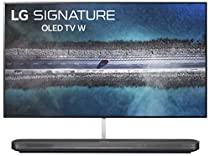 LG SIGNATURE OLED65W9PUA Alexa Built-in  W9 65 4K Ultra HD Smart OLED TV (2019)