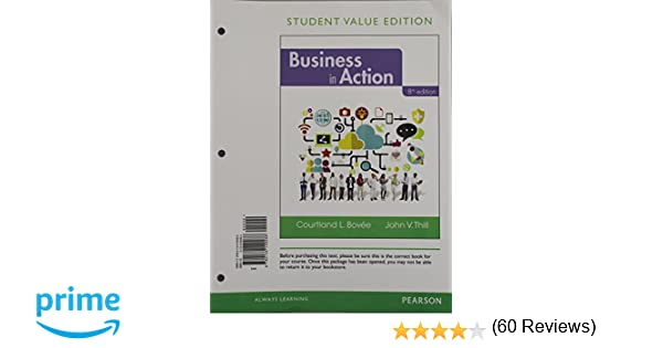 Amazon business in action student value edition 8th edition amazon business in action student value edition 8th edition 9780134149486 courtland l bovee john v thill books fandeluxe Gallery