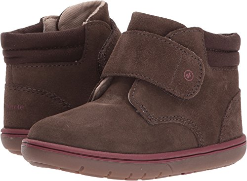Stride Rite Boys' SRTech Lincoln Ankle Boot, Brown, 6.5 W US (Loop Leather Ankle Boots)