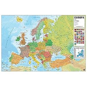 Grupo Erik Editores, S.L. – Póster mapa europa-e grupo erik