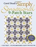 Carol Doak's Simply Sensational 9-Patch Stars, Carol Doak, 1571202846
