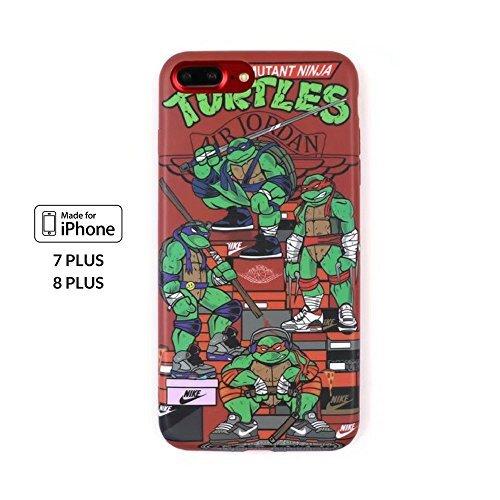 NIS Industries Supremo x Kermit–iPhone 7/8Plus, Verde (Green TMNT)