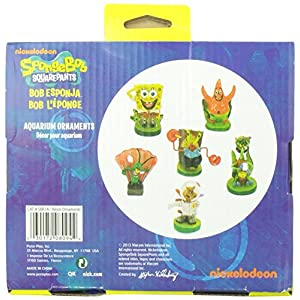 Penn Plax 6-Piece Spongebob Squarepants Mini Set 4