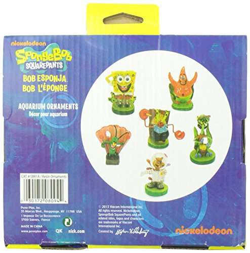 Penn-Plax-6-Piece-Spongebob-Squarepants-Mini-Set
