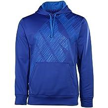 Nike Men's KO Flash Therma-Fit Pullover Green/Neon Green Hoodies