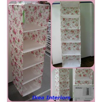 ikea skubb 5 compartments wardrobe clothes organiser in cath kidston rosali design by ikea. Black Bedroom Furniture Sets. Home Design Ideas