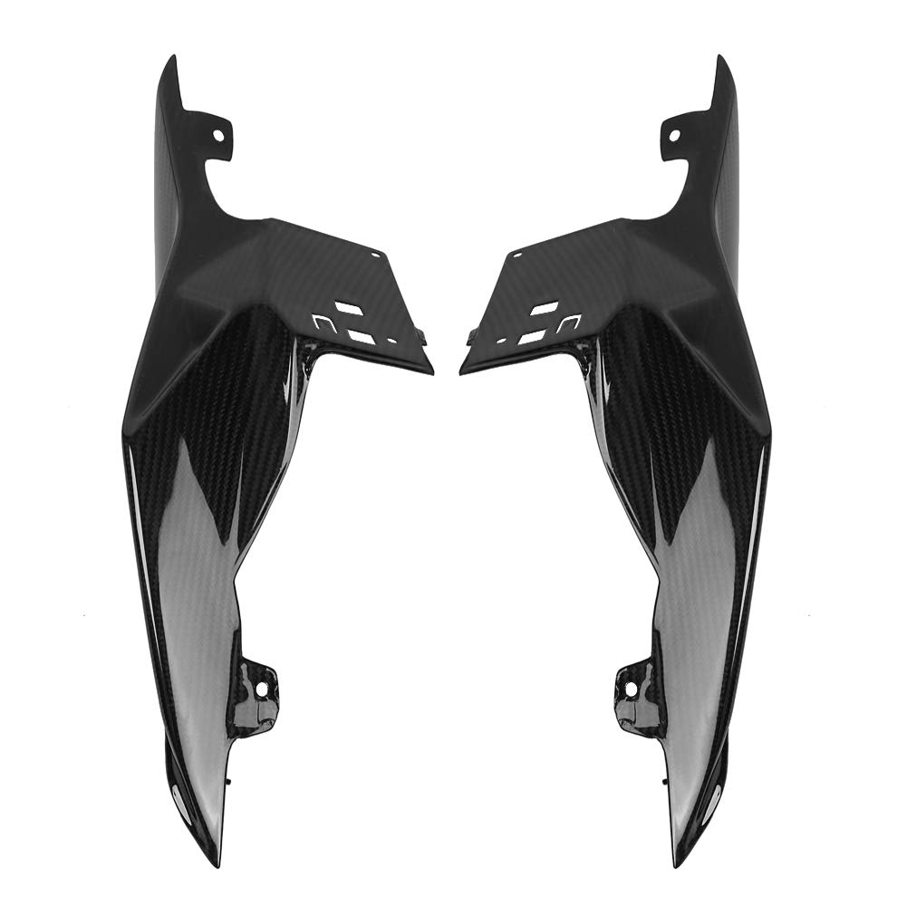 KIMISS Carbon Fiber Motorcycle Modified Rear Tail Seat Side Panels Cover Fairing for BMW S1000RR 15-18