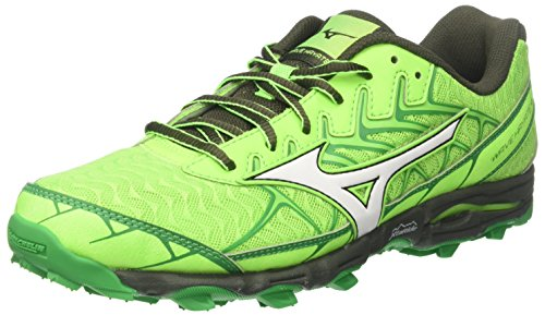 Homme 01 de Chaussures Greengecko White Forestnight Mizuno 4 Multicolore Wave Running Hayate gPwqaxY