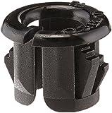 Morris 22362 Snap Bushings, 3/8-Inch, Black, 10-Pack