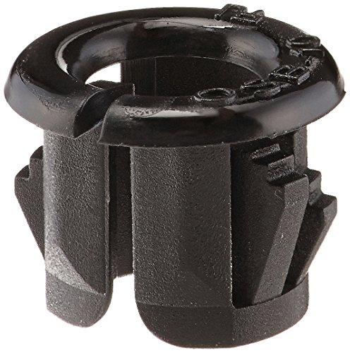 3/8 Inch Through Hole - Morris 22362 Snap Bushings, 3/8-Inch, Black, 10-Pack