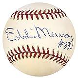 Eddie Murray Signed Baseball - Official American League - Autographed Baseballs