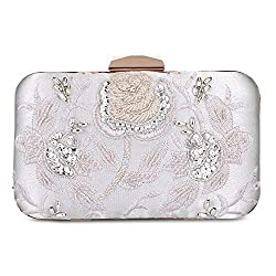 Embroidery Banquet Clutch