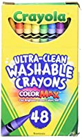 Crayola Ultra Clean Washable Crayons (1-Pack of 48)