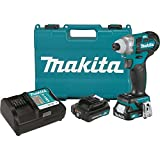 Makita DT04R1 12V Max CXT Lithium-Ion Brushless Cordless Impact Driver Kit (2.0Ah),