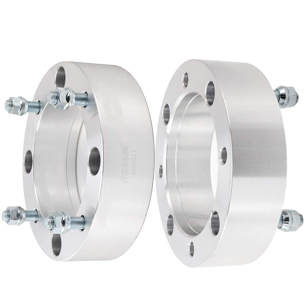 ROADFAR 2X 2 4x156 to 4x156 12x1.5 4 Lug Wheel spacers fits for 2015-2017 Polaris RZR 900 Polaris RZR XP 1000