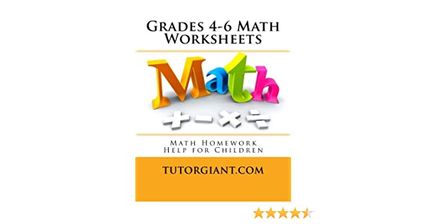 Counting Number worksheets math picture worksheets : TutorGiant.com - Grades 4-6 Math Worksheets: Math Homework Help ...