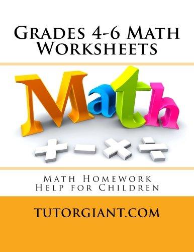 Counting Number worksheets maths worksheets for grade 4 : TutorGiant.com - Grades 4-6 Math Worksheets: Math Homework Help ...
