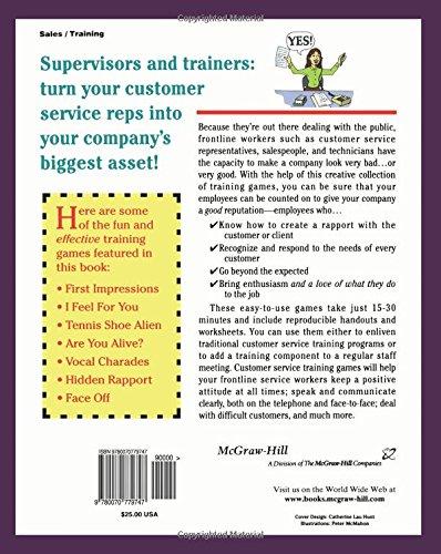The Big Book of Customer Service Training Games (Big Book Series ...