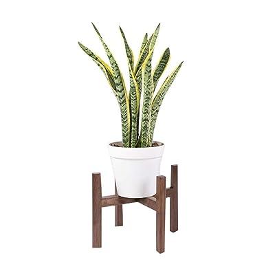 Pergolas Flower Stand Flower Stand Solid Wood Floor Plant Pot Rack Indoor Pot Rack Decorative Frame can Bear 20kg Balcony Flower Rack (Color : Brown, Size : 343430cm): Garden & Outdoor
