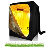 "48""x24""x60"" 48""x24""x72"" 48""x48""x78"" 60""X60""X78"" 96""x48""x78"" 600D Mylar Hydroponic Indoor Grow Tent Room w/Plastic Corner for Horticulture Plant Growing Grow Solution (60""X60""X78"") For Sale"