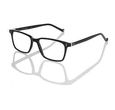 4d3c57d14c Amazon.com  Hackett London Eyeglasses HEB182 01 Black 53-17 - Men s ...