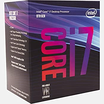 Intel Core i7-8700 Desktop Processor 6 Cores up to 4.6GHz Turbo LGA1151 300 Series 65W BX80684i78700