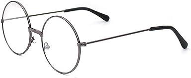 Gafas de lentes transparentes marco Geek//Nerd gafas con forma de coche gafas caso Hibote Redondo Gafas para ni/ños