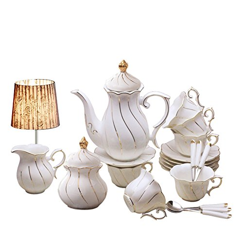 Yosou Home European 15-piece Coffee Set Tea Set Tea Service For Wedding Gift ()