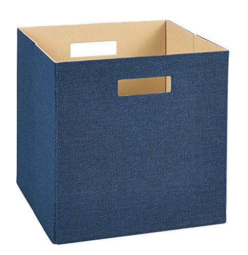 ClosetMaid 7110 Decorative Fabric Storage Bin, Blue