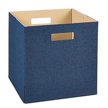ClosetMaid 7110 Decorative Fabric Storage Bin, Blue