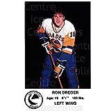 Ron Dreger Hockey Card 1983-84 Saskatoon Blades #19 Ron Dreger