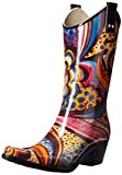 Nomad Women's Yippy Rain Boot,Turquoise Monet,7 M US