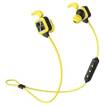 ZY Blanco Inalámbrico De Auriculares Inalámbricos con Bluetooth para Deportes, Batería De Larga Duración,