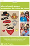 Western Photo Booth Props, 10pc