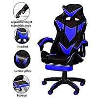 AE Gaming Chair High-Back PU Leather Computer Desk Racing Style Office Game Furniture, For Students Adjustable Height…
