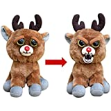 """Feisty Pets: Rude Alf the Blood Nosed Reindeer - Goes from """"Awww"""" to """"Ahhh!"""" with a Squeeze"""