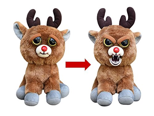 Feisty Pets: Rude Alf the Blood Nosed Reindeer - Goes from Awww to Ahhh! with a Squeeze