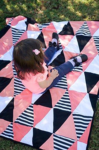 Danha Triangle Quilt Blanket Girls