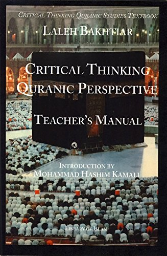 Download Critical Thinking and the Chronological Quran Book 30 Teacher's Manual pdf epub