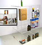 Commercial Display (6 bin tall): 50ml liquor shot bottles, mini sampler, point of sale items (mini6)