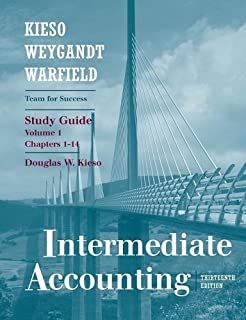 Intermediate accounting 12th edition donald e kieso jerry j intermediate accounting chapters 1 14 study guide volume 1 fandeluxe Gallery