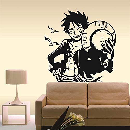 Baobaoshop One Piece Luffy Wall Comics and Animation Sticker Decal ...